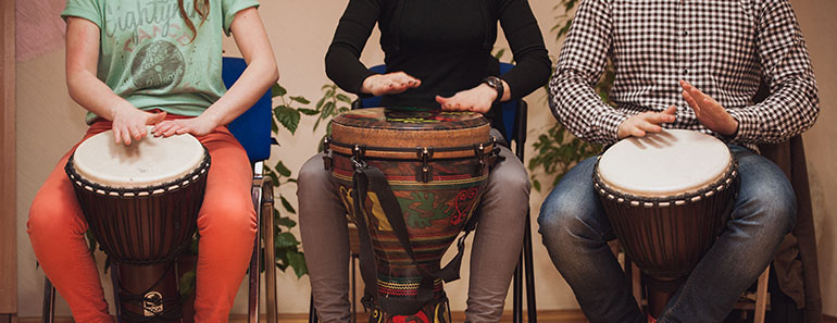 Djembe bass lesson