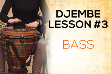Djembe lesson - Bass