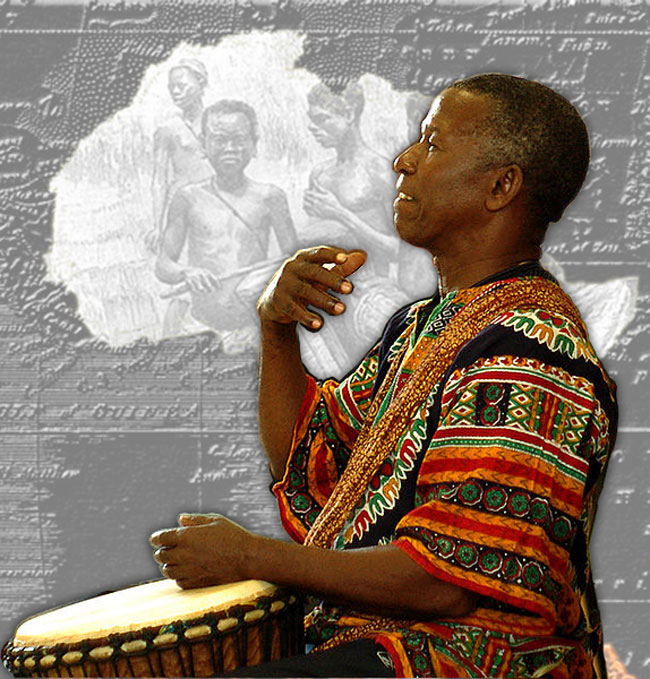 Famoudou Konate - master djembe player