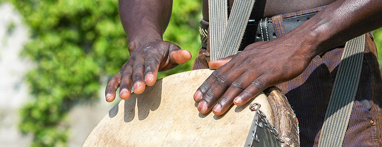 Djembe lessons - tone