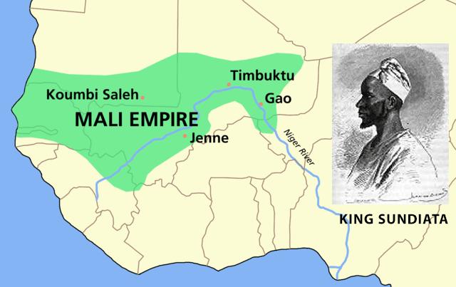 Djembe history map
