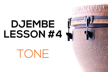 Djembe lesson 4 - the tone note