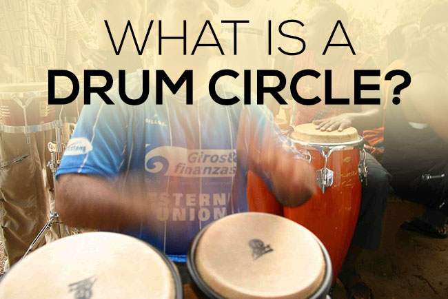 What is a drum circle