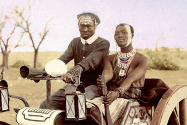 African photos never seen in color