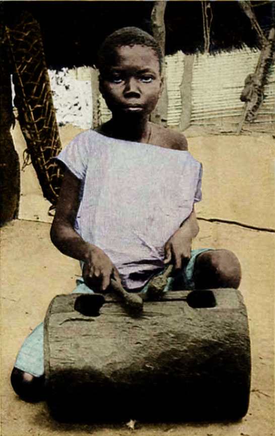 A girl playing a Krin