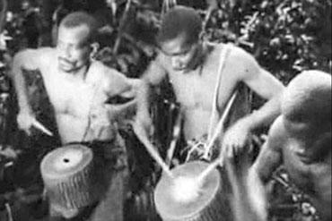 Oldest African Drumming Footage