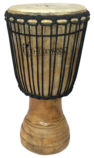 African Heartwood Djembe 10""
