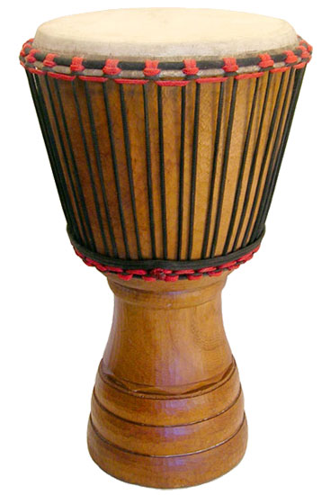 African Heartwood djembe Ivory Coast 13""