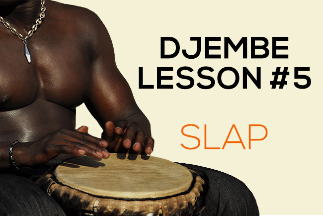 Djembe lesson - slap